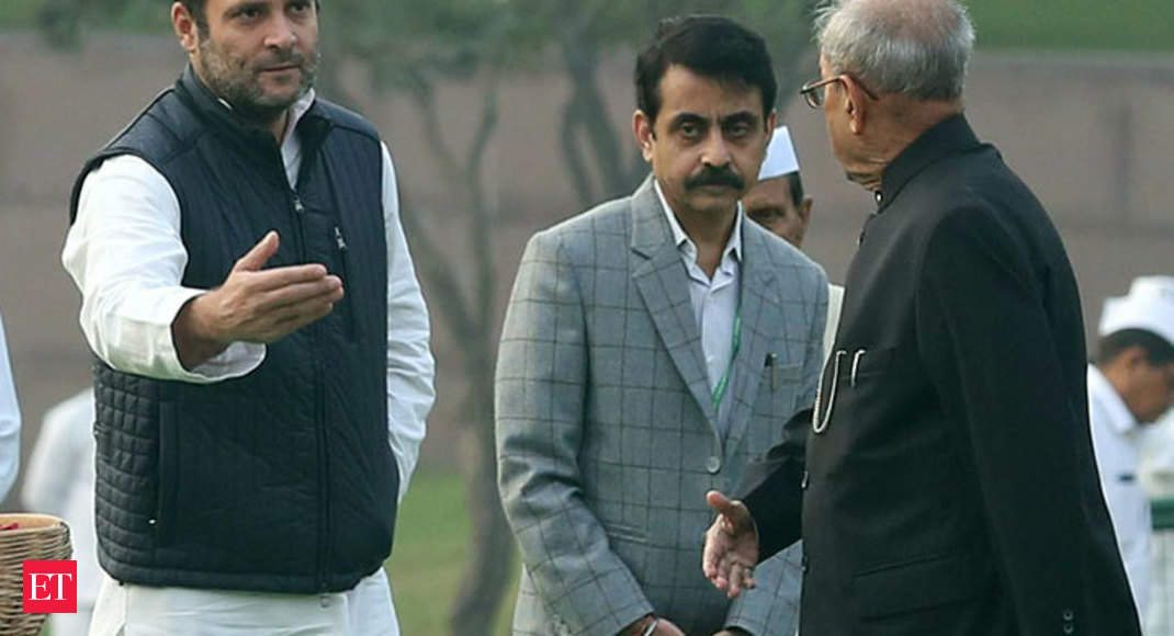 Pranab Mukherjee Exclusive Rahul Gandhi Ready To Lead Congress