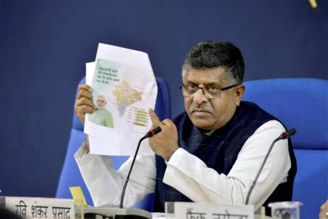 No 'witch-hunt' on cybersecurity: IT minister Ravi Shankar Prasad