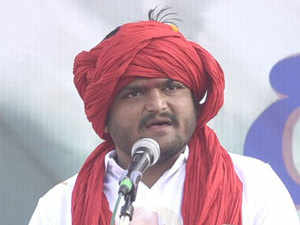 "Hardik said the time has come to ""decimate"" the ruling BJP."