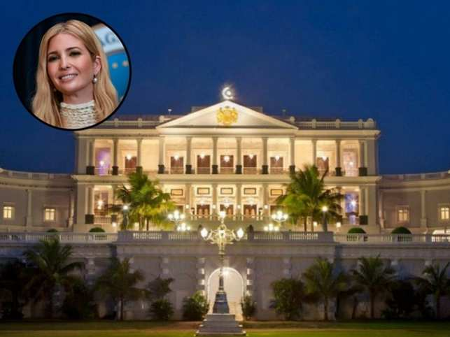 Ivanka first high profile foreign dignitary visiting Falaknuma palace after converting into a star hotel