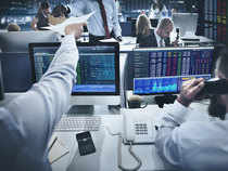 The NSE Nifty was down 19.80 points at 10379.75 in morning trade on Tuesday around 9.45 am (IST).