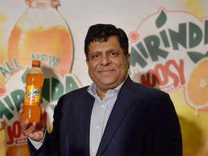Prakash and senior officials were here to launch 'Mirinda Joosy', a new variant under the popular 'Mirinda' brand which contains less sugar content with more fruit juice.