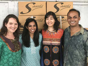 Saathi founders want to subsidize their pads for rural buyers through urban sales.