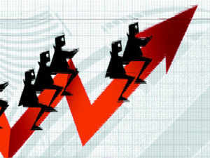 The boost came a day after official data showed Indian economy shrugging off the disruption caused by GST and any lingering after-effects of demonetisation to grow 6.3% in the July-September led by a revival in manufacturing.