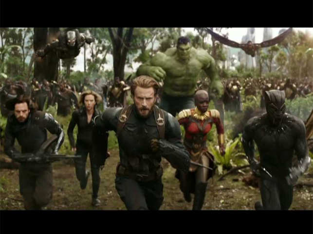 First trailer of 'Avengers: Infinity War' is out
