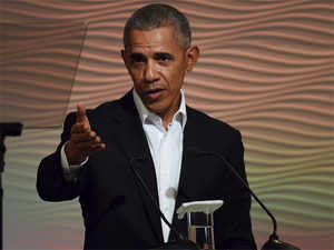 "Obama spoke of India's ""enormous Muslim population"", which is successful, integrated and thinks of itself as Indian."