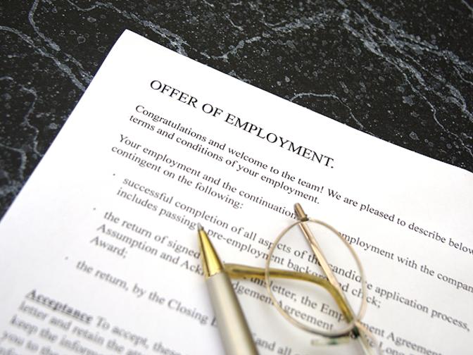 Deals employment