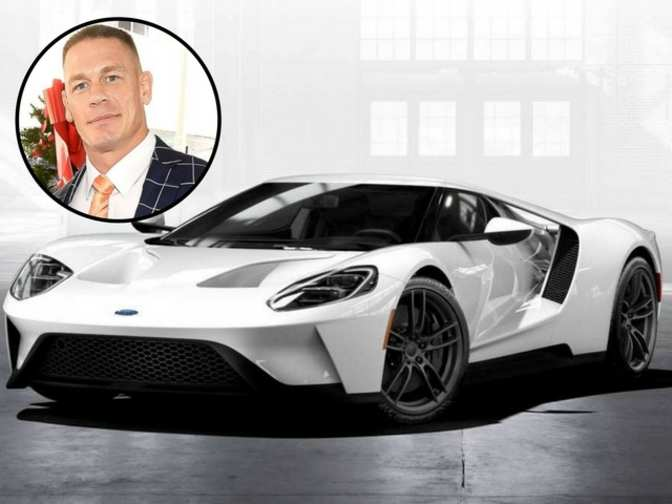 John Cena Ford Sues John Cena For Reselling His New  Gt Supercar The Economic Times