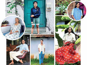 On an average, Siddharth Mohan Nair sells 15 khadi denim pants a month.