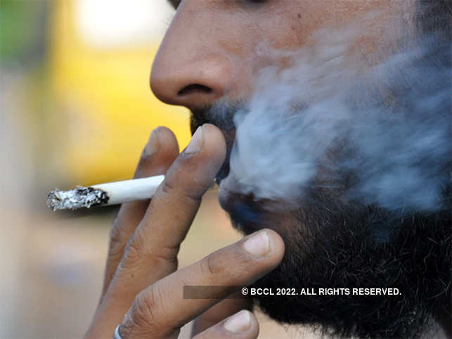 Consuming tobacco can lead to gradual loss of ability to smell and taste.