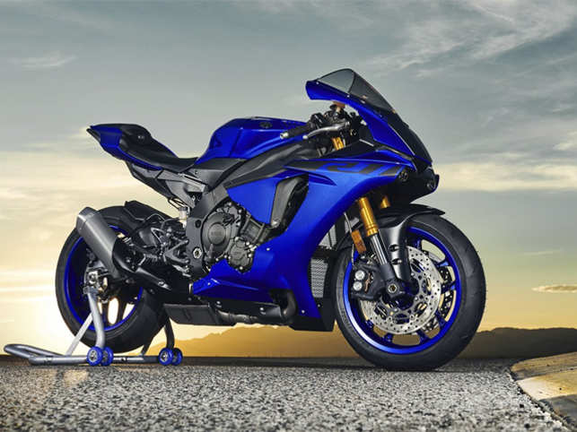 Yamaha launches an updated version of its superbike YZF-R1 ...