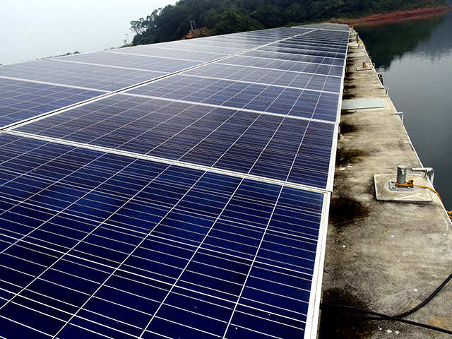 Kerala: India's largest floating solar power plant opens in