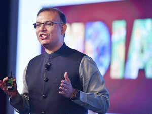 Sinha, who was speaking at the Tech Conclave-2017 organised by the National Stock Exchange, called upon tech giants to invest at least a trillion dollars on technology.