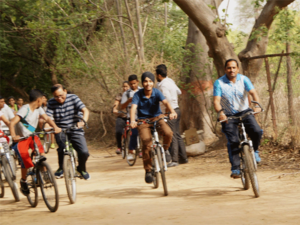 The startup is targeting users who need to commute a distance of 3-6 km using their bicycles.