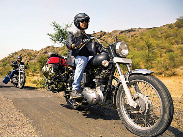 LET'S RIDE TOGETHER: Biking as a trend has picked up momentum of late in India (©ImagesBazaar)