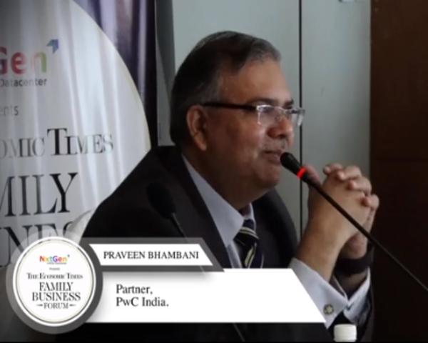 Praveen Bhambani, Partner, PWC India