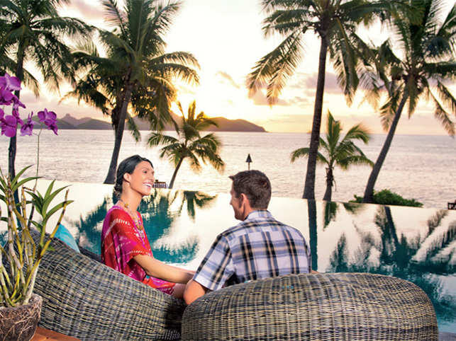 Luxurious resorts in Fiji extend world-class experiences for couples. Sit back by the sea as you watch the sun go down after a day full of adventure.