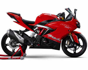 TVS goes full throttle, launches its fastest bike Apache RR 310
