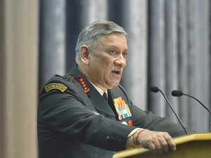 "In the ""good old days"", the norm was that women and politics were never discussed in the forces, Rawat said."