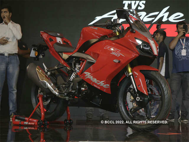 Apache RR310 top speed - TVS launches Apache RR 310 sports