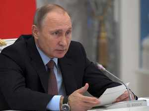 Putin is lauded by allies as a father of the nation figure who has restored national pride and expanded Moscow's global clout with interventions in Syria and Ukraine.