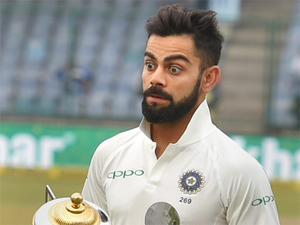 Kohli, who slammed back-to-back double-centuries and recorded three-figure scores in three consecutive matches, started the series in sixth position