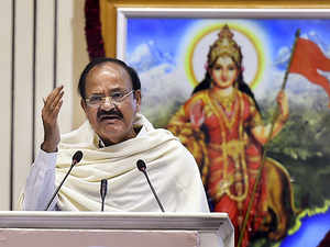 Naidu was speaking at an event to release a book on former VHP chief late Ashok Singhal.