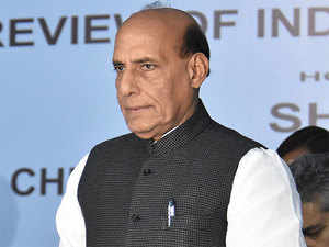 """""""We have to cautious so that no form of illegal migration can take place from across the border,"""" Rajnath said."""