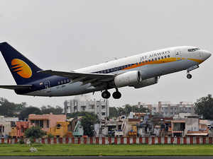 Jet said it had made a profit of Rs 190.22 crore last year on the sale and leaseback of planes. It made no such profit this year.