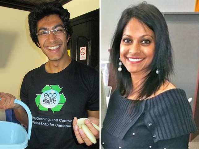 Samir Lakhani (left) and Mona Patel (right).