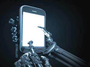 On a smartphone, the artificial intelligence will learn your usage pattern and start applying it on a day to day basis.