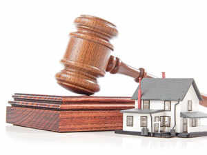 1dcecbf298f Buyers should remember that a bank s claim on a property put up for auction  is restricted