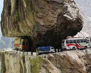 Five most dangerous roads of the world