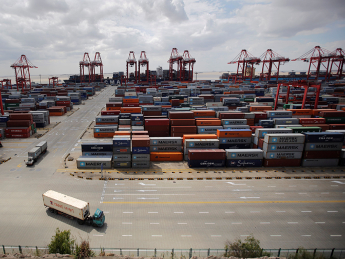 economic analysis of shanghai port Port development in the greater shanghai region declared a special economic zone between shanghai port container company and hutchison port.