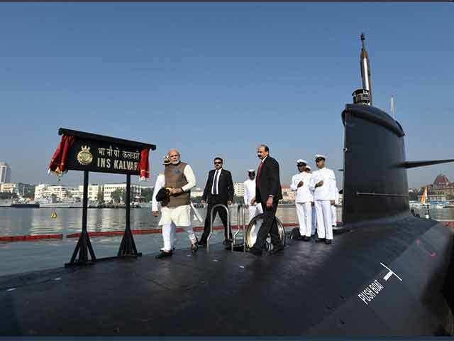 INS Kalvari submarine affirms Make in India's giant strides: MDL