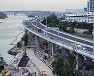 Hong Kong-Zhuhai-Macau: World's largest sea bridge