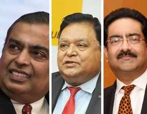 No hard feelings! All's well between AM Naik, Mukesh Ambani and Kumar Birla