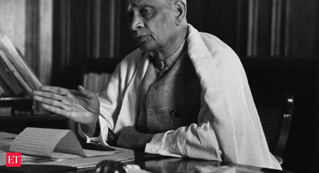 Patel  Things To Know About Sardar Vallabhbhai Patel The Iron Man Of India The Economic Times