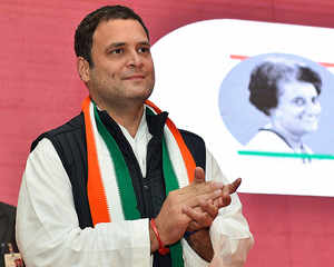 New era dawns on Congress: Rahul Gandhi formally takes charge as president