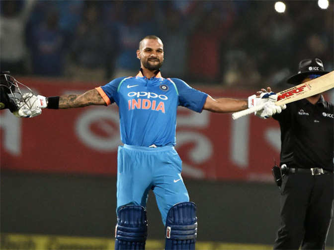 Shikhar Dhawan slams century as India win ODI series 2-1