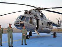 IAF phases out Soviet-era multi-utility MI-8 choppers