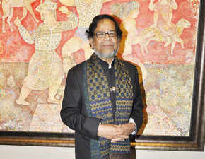 Sakti Burman's works of art lay in the attic, got recognition thanks to a Japanese collector