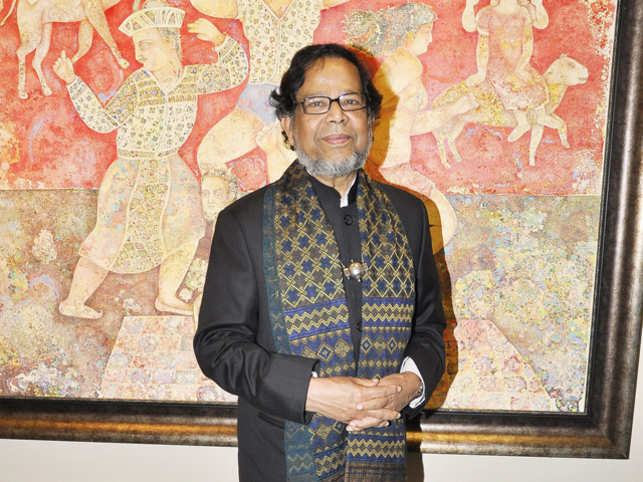 "Today, France-based Indian origin artist Sakti Burman's paintings fetch a handsome sum at auctions. However, there was a time when he and his family didn't think his artwork had much value. In fact, before a buyer opened his eyes to the commercial worth, many of Burman's earlier works were left lying around like junk.  Speaking of the time when he was a struggling artist and before he moved to France, Burman revealed that people wouldn't accept a painting even if you gave it to them. At his home, while his family hung a few of his works, most of the others were kept in the attic. ""We were a middle-class family and the house had limited space. So, they put them in places with other junk,"" said Burman during his recent visit to Mumbai for his retrospective exhibition organised by Art Musings. ""That's because they [the paintings] didn't have any commercial value, only aesthetic value. Even I didn't take care; they are there and it's fine.""  A fortune visit Burman realised the true value of his paintings when a Japanese collector came knocking on his door in Kolkata. ""I had come down [from France] for a visit when this Japanese gentleman came home. He had heard about me and wanted to see all my paintings,"" he recalled. Some of these paintings, he admitted, weren't in good condition. But the collector bought them all. ""They weren't expensive, but all of a sudden, the things that didn't have any value, became valuable,"" he said."