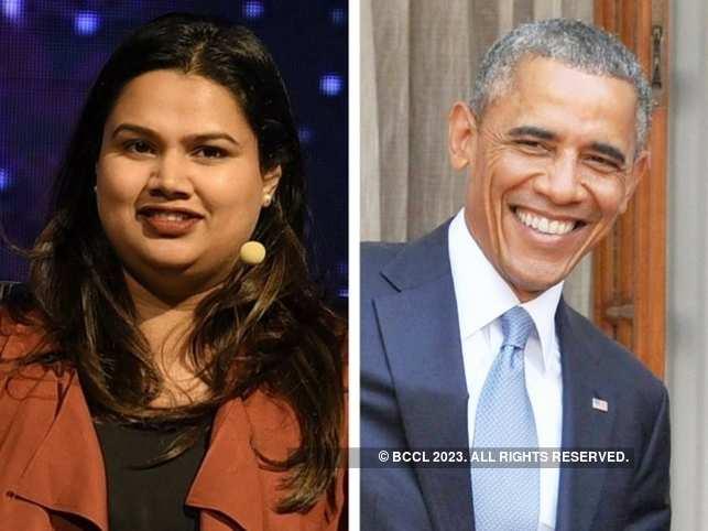 Barack Obama's powerful Delhi Townhall speech left pastry chef Pooja Dhingra in awe