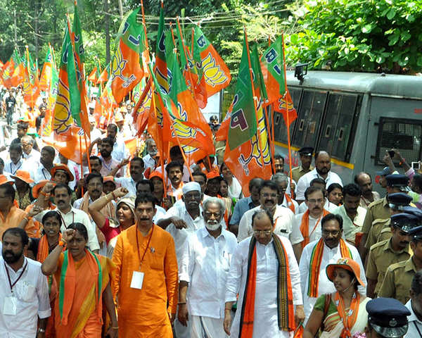 Kerala: Twin attack on BJP-RSS workers, BJP to stage protest against Left