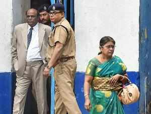 Kolkata: Former Calcutta High Court Judge CS Karnan comes out of the Presidency ...