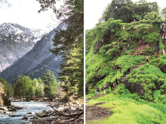 Make New Year vacation memorable: Plan a quick getaway to Kasol, Dandeli or Malshej