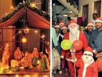 From potluck luncheons to 'ugly sweater' parties, Anglo-Indians kindle the Christmas spirit
