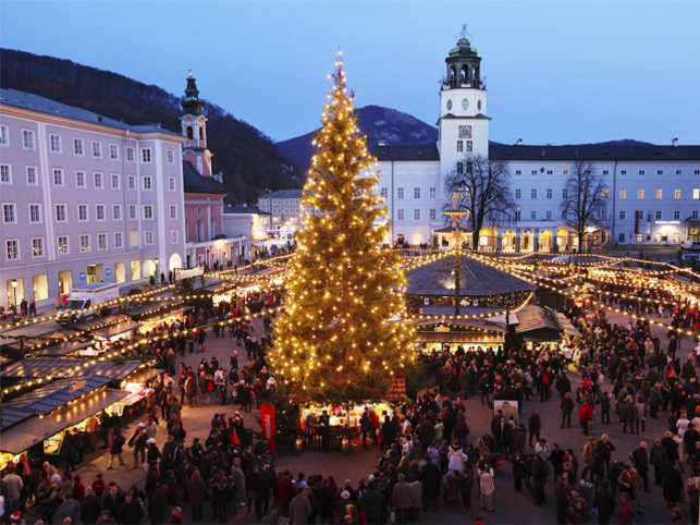 Indulge in some retail therapy this holiday season with a visit to these charming Christmas markets.  Nuremberg, Germany Holiday markets or Christkindlmärkte are said to have originated in Germany. This is one of the largest holiday markets in the country. If you want to see the entire market, hitch a ride on a stagecoach and your coachman will be your tour guide, regaling you with historic tales and Christmas songs on his trumpet. What to buy You can savour sausages and bring traditional figurines made from dried prunes and figs as souvenirs.  (Image: christkindlmarkt.co.at)
