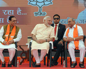 Rupani-Patel duo to continue as Gujarat CM, deputy CM